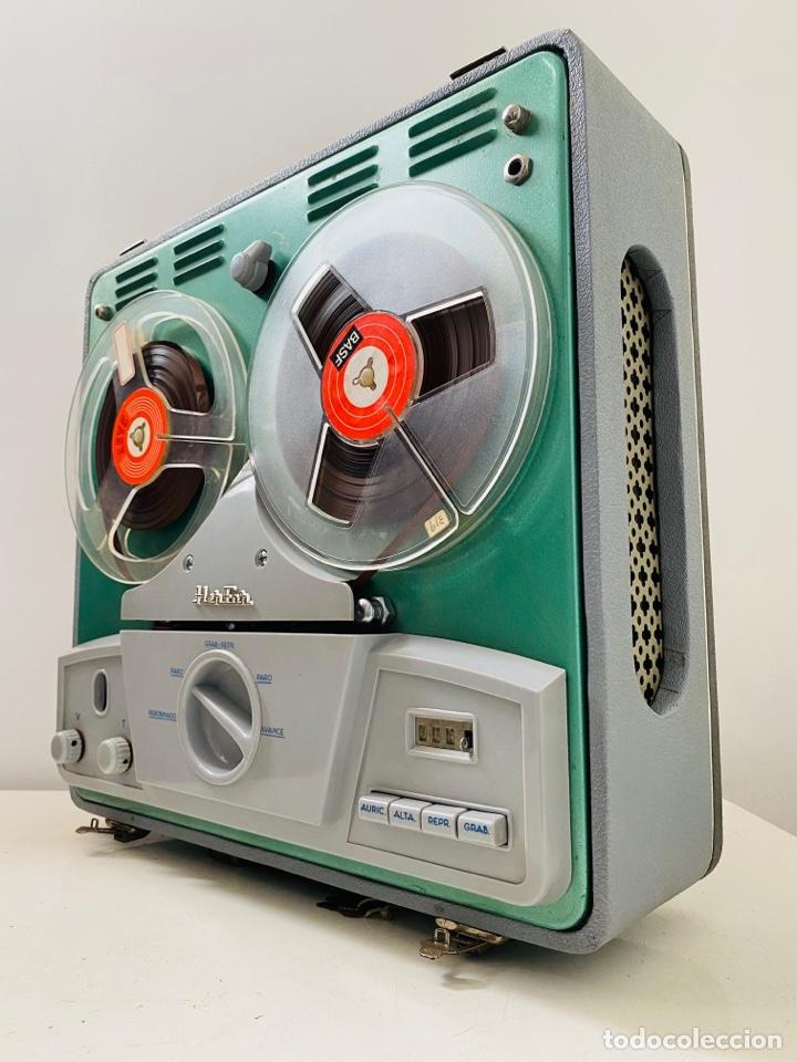 HER FAN REEL TO REEL VÁLVULAS (Radios, Gramófonos, Grabadoras y Otros - Fonógrafos y Grabadoras de Válvulas)