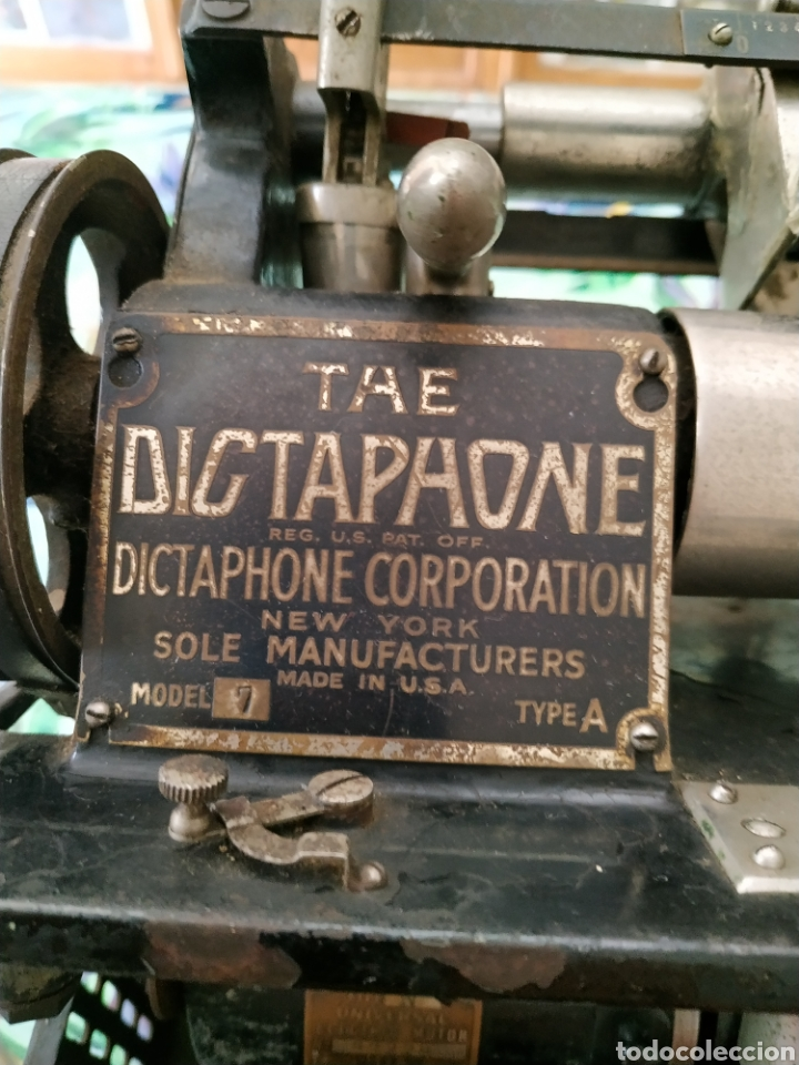 Fonógrafos y grabadoras de válvulas: The Dictaphone, Sole Manufacturers - Foto 7 - 254206250