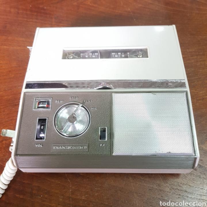 Fonógrafos y grabadoras de válvulas: ANTIGUA GRABADORA JR-500 TRANSICORDER - Foto 2 - 254253690