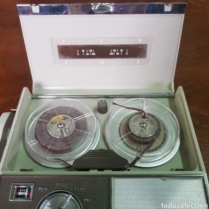 Fonógrafos y grabadoras de válvulas: ANTIGUA GRABADORA JR-500 TRANSICORDER - Foto 7 - 254253690