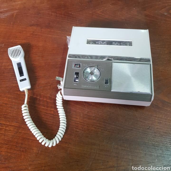ANTIGUA GRABADORA JR-500 TRANSICORDER (Radios, Gramófonos, Grabadoras y Otros - Fonógrafos y Grabadoras de Válvulas)