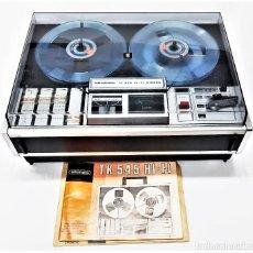 Fonógrafos y grabadoras de válvulas: MAGNETÓFONO DE BOBINA ABIERTA GRUNDIG TK 545 Nº DE SERIE 52177. Lote 261626080