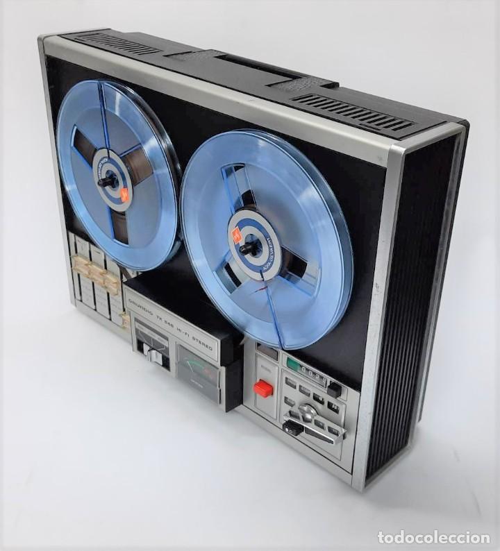 Fonógrafos y grabadoras de válvulas: Magnetófono de bobina abierta Grundig TK 545 Nº de serie 52177 - Foto 6 - 261626080