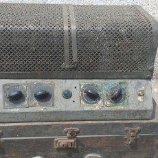 Fonógrafos y grabadoras de válvulas: AMPLIFECADOR DE VÁLVULAS JMVENT ANTIGUO. Lote 261780860