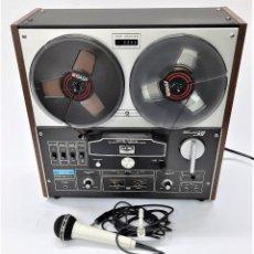 Fonógrafos y grabadoras de válvulas: MAGNETÓFONO DE BOBINA ABIERTA AKAI GX M-11D - SERIE -70617-00518 -GRABA BIEN. Lote 261902005