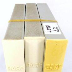 Fonógrafos y grabadoras de válvulas: LOTE Nº 12 - COMPUESTO POR 3 CINTAS MARCA BASF DE 18 CMS - COMPLETAS. Lote 262033845
