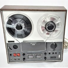 Fonografi e magnetofoni a valvole: MAGNETÓFONO DE CINTA ABIERTA SONY TC-366 STEREO - SERIE 160286 - GRABA BIEN VER VÍDEOS. Lote 262115350