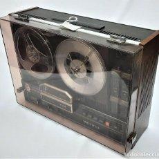 Fonógrafos y grabadoras de válvulas: PHILIPS N4415 STEREO 3 MOTORES SERIE WR 02550136524 / GRABA BIEN. Lote 263026895