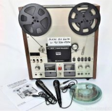 Fonógrafos y grabadoras de válvulas: AKAI GX 600DB / SERIE 90306-03230 /AÑO 1980-82 - NECESTA AMPLIFICADOR EXTERNO - GRABA BIEN. Lote 263054465