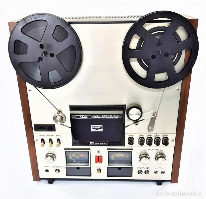 Fonógrafos y grabadoras de válvulas: AKAI GX 600DB / SERIE 90306-03230 /Año 1980-82 - NECESTA AMPLIFICADOR EXTERNO - GRABA BIEN - Foto 3 - 263054465