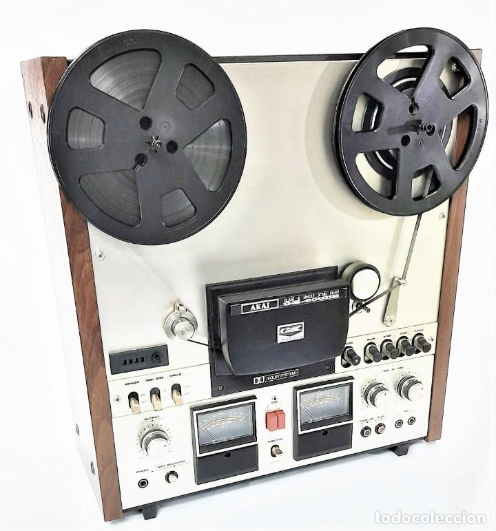 Fonógrafos y grabadoras de válvulas: AKAI GX 600DB / SERIE 90306-03230 /Año 1980-82 - NECESTA AMPLIFICADOR EXTERNO - GRABA BIEN - Foto 4 - 263054465