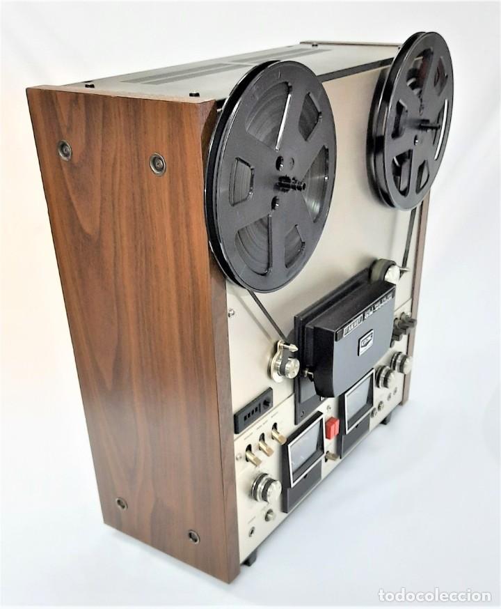 Fonógrafos y grabadoras de válvulas: AKAI GX 600DB / SERIE 90306-03230 /Año 1980-82 - NECESTA AMPLIFICADOR EXTERNO - GRABA BIEN - Foto 5 - 263054465