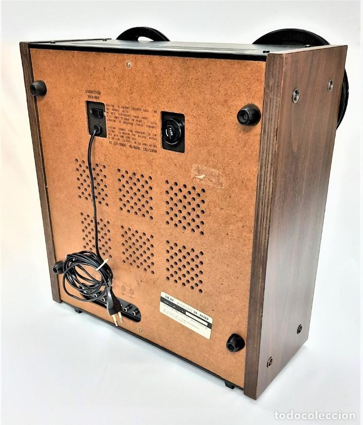 Fonógrafos y grabadoras de válvulas: AKAI GX 600DB / SERIE 90306-03230 /Año 1980-82 - NECESTA AMPLIFICADOR EXTERNO - GRABA BIEN - Foto 7 - 263054465