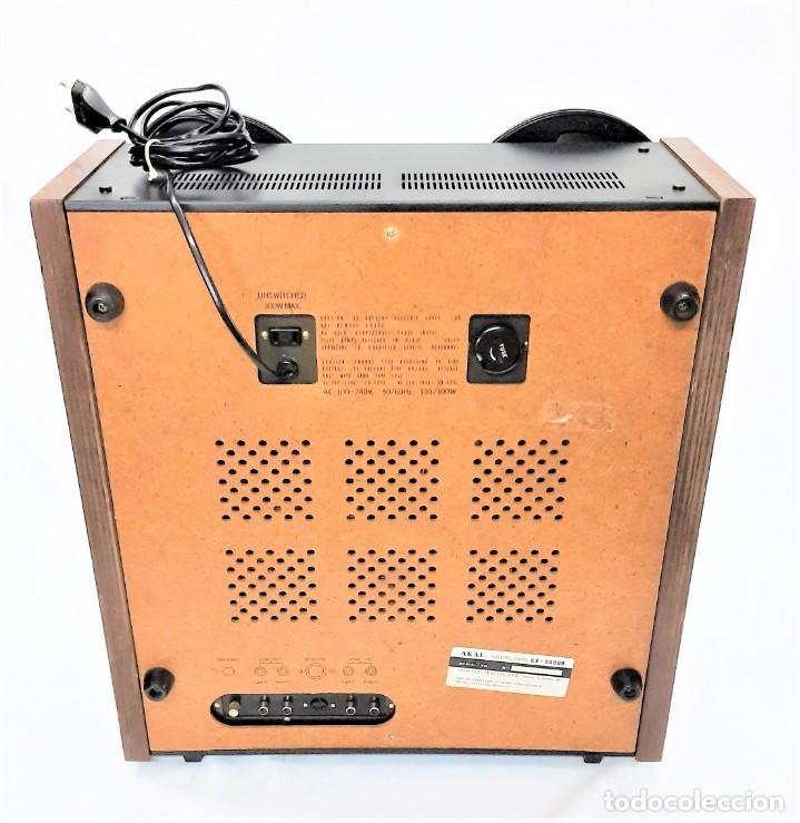 Fonógrafos y grabadoras de válvulas: AKAI GX 600DB / SERIE 90306-03230 /Año 1980-82 - NECESTA AMPLIFICADOR EXTERNO - GRABA BIEN - Foto 8 - 263054465