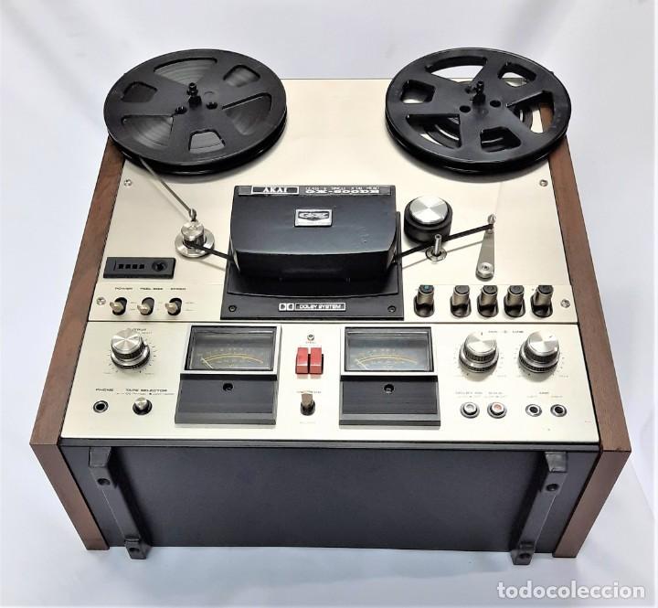 Fonógrafos y grabadoras de válvulas: AKAI GX 600DB / SERIE 90306-03230 /Año 1980-82 - NECESTA AMPLIFICADOR EXTERNO - GRABA BIEN - Foto 11 - 263054465