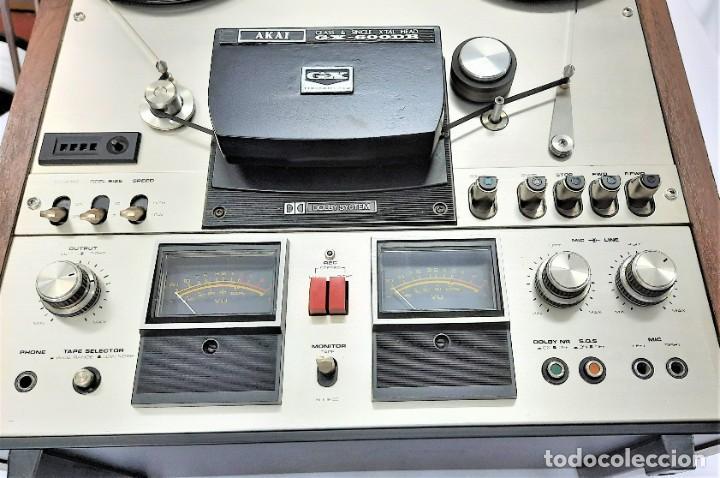 Fonógrafos y grabadoras de válvulas: AKAI GX 600DB / SERIE 90306-03230 /Año 1980-82 - NECESTA AMPLIFICADOR EXTERNO - GRABA BIEN - Foto 12 - 263054465