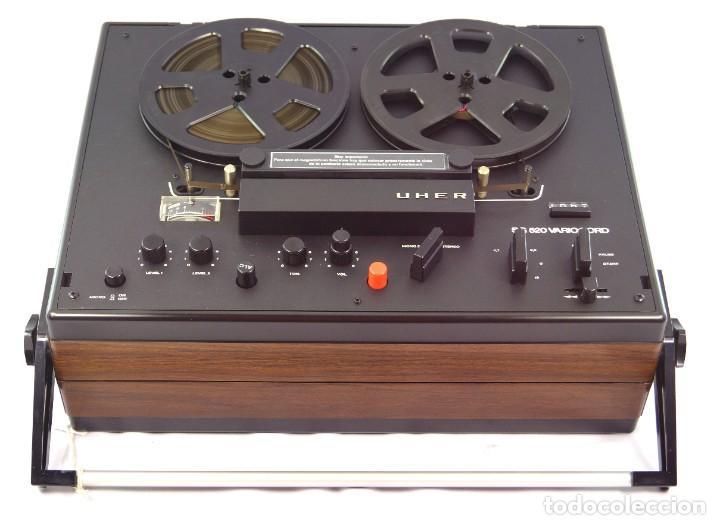 Fonógrafos y grabadoras de válvulas: MAGNETÓFONO UHER SG 520 VARIOCORD Serie 2801-14636 Año 1970/72- GRABA BIEN - Foto 4 - 264069615
