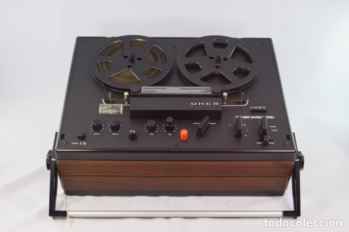 Fonógrafos y grabadoras de válvulas: MAGNETÓFONO UHER SG 520 VARIOCORD Serie 2801-14636 Año 1970/72- GRABA BIEN - Foto 6 - 264069615