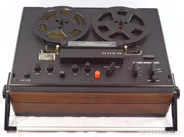 Fonógrafos y grabadoras de válvulas: MAGNETÓFONO UHER SG 520 VARIOCORD Serie 2801-14636 Año 1970/72- GRABA BIEN - Foto 8 - 264069615