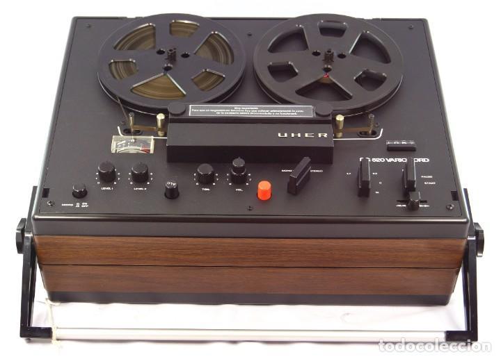 Fonógrafos y grabadoras de válvulas: MAGNETÓFONO UHER SG 520 VARIOCORD Serie 2801-14636 Año 1970/72- GRABA BIEN - Foto 9 - 264069615