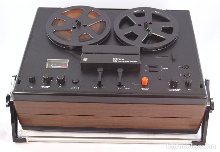 Fonógrafos y grabadoras de válvulas: MAGNETÓFONO UHER SG 510 – SERIE 2751-03157 – GRABA BIEN - INTERIOR MUY NUEVO - Foto 3 - 264075360