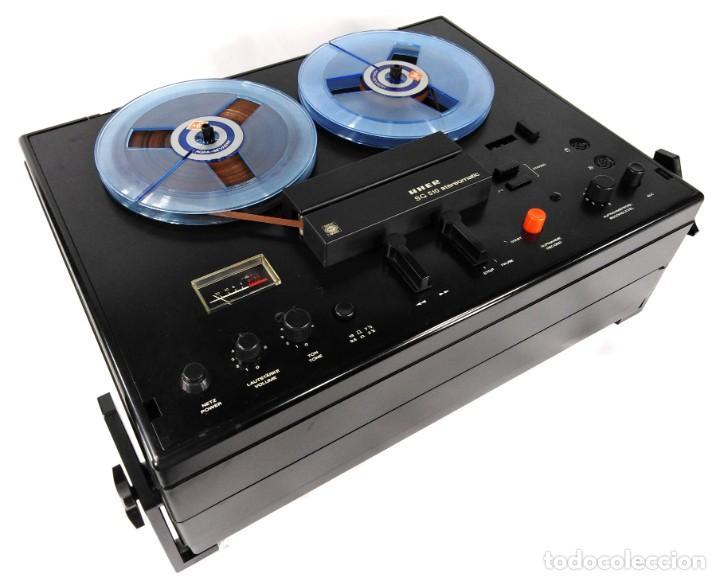 MAGNETÓFONO UHER SG 510 – SERIE 2751-05680 – GRABA BIEN (Radios, Gramófonos, Grabadoras y Otros - Fonógrafos y Grabadoras de Válvulas)