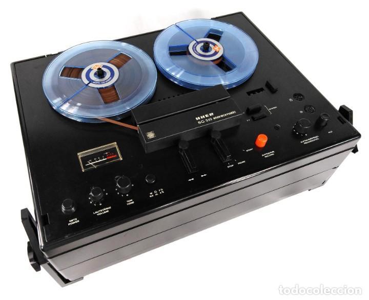 Fonógrafos y grabadoras de válvulas: MAGNETÓFONO UHER SG 510 – SERIE 2751-05680 – GRABA BIEN - Foto 3 - 264077025