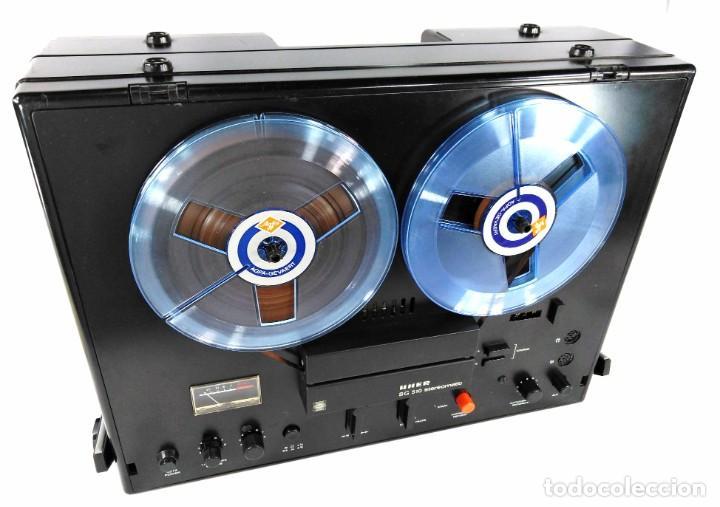 Fonógrafos y grabadoras de válvulas: MAGNETÓFONO UHER SG 510 – SERIE 2751-05680 – GRABA BIEN - Foto 5 - 264077025