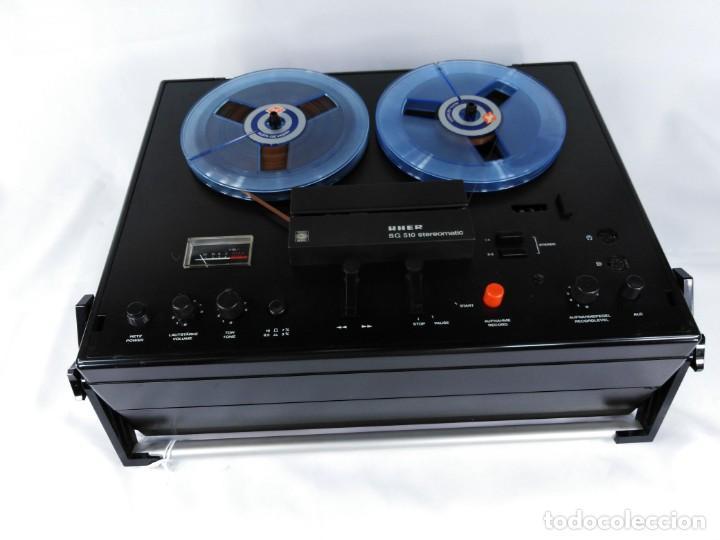 Fonógrafos y grabadoras de válvulas: MAGNETÓFONO UHER SG 510 – SERIE 2751-05680 – GRABA BIEN - Foto 11 - 264077025
