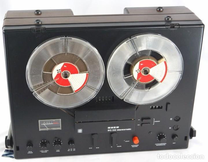MAGNETÓFONO  UHER SG 510 - SERIE 2751-02968 - GRABA BIEN (Radios, Gramófonos, Grabadoras y Otros - Fonógrafos y Grabadoras de Válvulas)