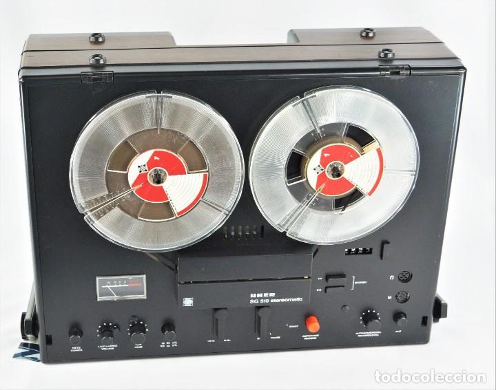 Fonógrafos y grabadoras de válvulas: MAGNETÓFONO  UHER SG 510 - SERIE 2751-02968 - GRABA BIEN - Foto 7 - 264079740