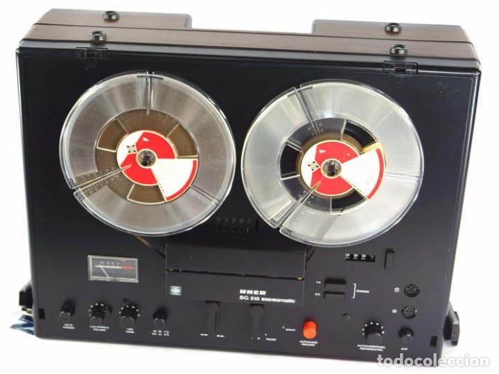 Fonógrafos y grabadoras de válvulas: MAGNETÓFONO  UHER SG 510 - SERIE 2751-02968 - GRABA BIEN - Foto 8 - 264079740