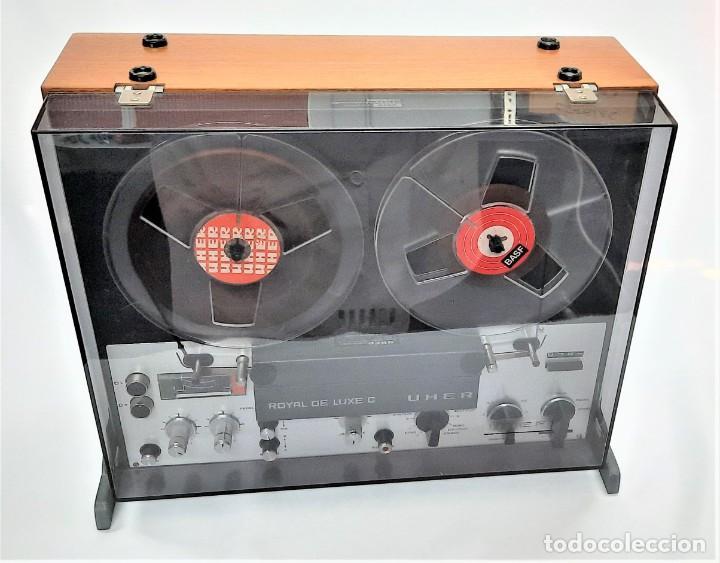 MAGNETÓFONO  UHER ROYAL DE LUXE C 2945 – SERIE 2945/16104 - GRABA BIEN VER VÍDEOS (Radios, Gramófonos, Grabadoras y Otros - Fonógrafos y Grabadoras de Válvulas)