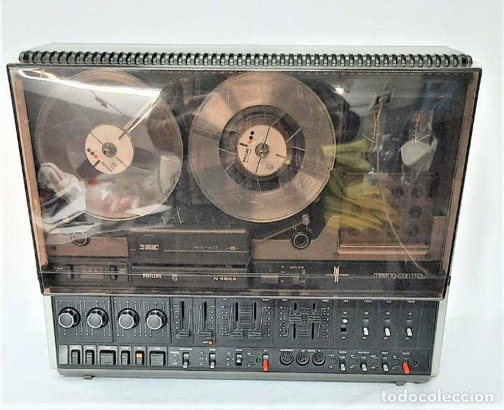 PHILIPS N4506/00 3 MOTORES - GRABA BIEN, VER VÍDEOS ADJUNTOS - SERIE WR: 05739033258 (Radios, Gramófonos, Grabadoras y Otros - Fonógrafos y Grabadoras de Válvulas)
