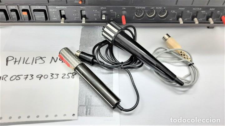 Fonógrafos y grabadoras de válvulas: PHILIPS N4506/00 3 MOTORES - GRABA BIEN, VER VÍDEOS ADJUNTOS - Serie WR: 05739033258 - Foto 2 - 264536829