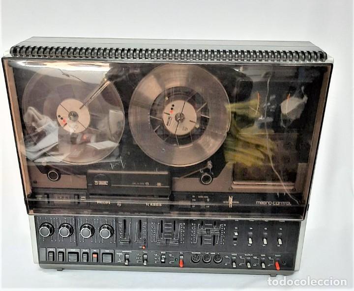 Fonógrafos y grabadoras de válvulas: PHILIPS N4506/00 3 MOTORES - GRABA BIEN, VER VÍDEOS ADJUNTOS - Serie WR: 05739033258 - Foto 3 - 264536829