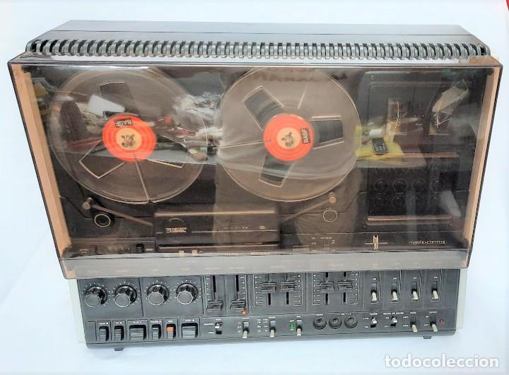 Fonógrafos y grabadoras de válvulas: PHILIPS N4515/00 3 Motores GRABA BIEN, VER VÍDEOS ADJUNTOS - Serie WR: 02908018873 - Foto 3 - 264538294