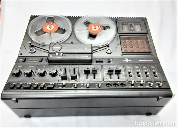 Fonógrafos y grabadoras de válvulas: PHILIPS N4515/00 3 Motores GRABA BIEN, VER VÍDEOS ADJUNTOS - Serie WR: 02908018873 - Foto 11 - 264538294