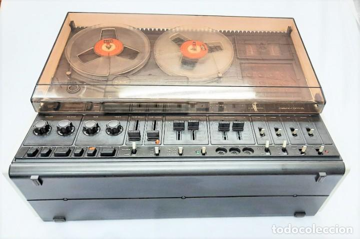 Fonógrafos y grabadoras de válvulas: PHILIPS N4515/00 3 Motores GRABA BIEN, VER VÍDEOS ADJUNTOS - Serie WR: 02908018873 - Foto 14 - 264538294