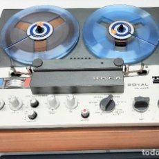 Fonografi e magnetofoni a valvole: MAGNETÓFONO DE BOBINA ABIERTA MARCA UHER ROYAL DE LUXE Nº DE SERIE 2944-101251 - GRABA BIEN. Lote 264542279