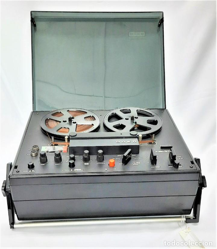 MAGNETÓFONO DE BOBINA ABIERTA MARCA UHER VARIOCOR SG 560 - SERIE 05588 - VER VÍDEOS (Radios, Gramófonos, Grabadoras y Otros - Fonógrafos y Grabadoras de Válvulas)