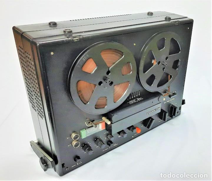 Fonógrafos y grabadoras de válvulas: Magnetófono de bobina abierta Marca UHER VARIOCOR SG 560 - Serie 05588 - VER VÍDEOS - Foto 2 - 264958274