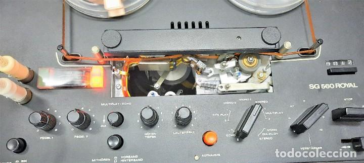 Fonógrafos y grabadoras de válvulas: Magnetófono de bobina abierta Marca UHER VARIOCOR SG 560 - Serie 05588 - VER VÍDEOS - Foto 4 - 264958274