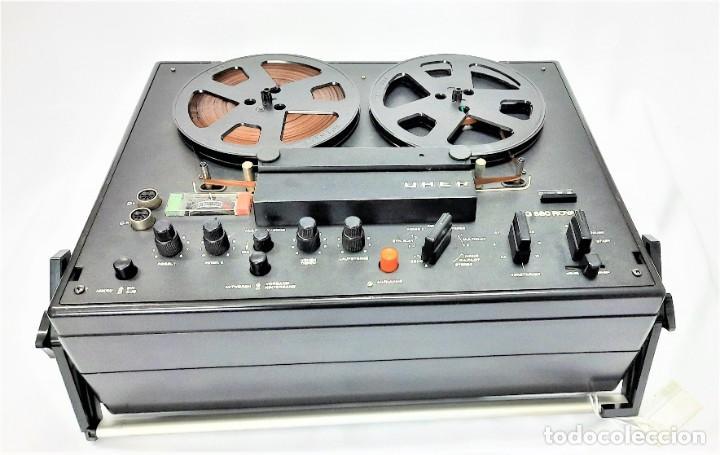 Fonógrafos y grabadoras de válvulas: Magnetófono de bobina abierta Marca UHER VARIOCOR SG 560 - Serie 05588 - VER VÍDEOS - Foto 9 - 264958274