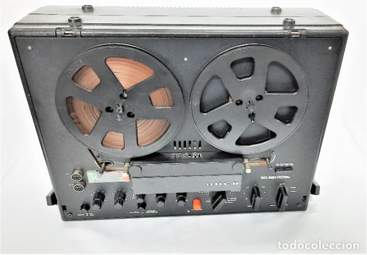 Fonógrafos y grabadoras de válvulas: Magnetófono de bobina abierta Marca UHER VARIOCOR SG 560 - Serie 05588 - VER VÍDEOS - Foto 10 - 264958274