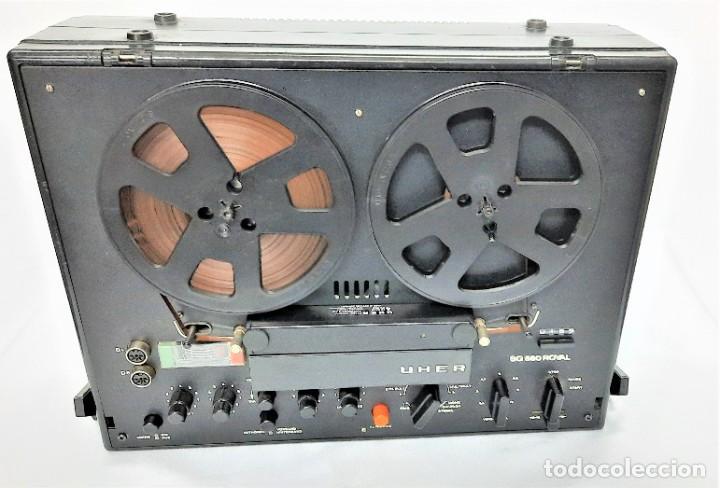 Fonógrafos y grabadoras de válvulas: Magnetófono de bobina abierta Marca UHER VARIOCOR SG 560 - Serie 05588 - VER VÍDEOS - Foto 11 - 264958274