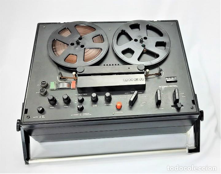 Fonógrafos y grabadoras de válvulas: Magnetófono de bobina abierta Marca UHER VARIOCOR SG 560 - Serie 05588 - VER VÍDEOS - Foto 12 - 264958274