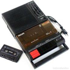 Fonógrafos y grabadoras de válvulas: CASSETTE-PHILIPS COMPUTER COMPATIBLE D6350. AÑOS 80. Lote 265997633