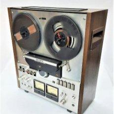 Fonógrafos y grabadoras de válvulas: MAGNETÓFONO DE BOBINA ABIERTA SONY TC 558 - SERIE 10956 - GRABA MUY BIEN -VER VIDEOS. Lote 266953069