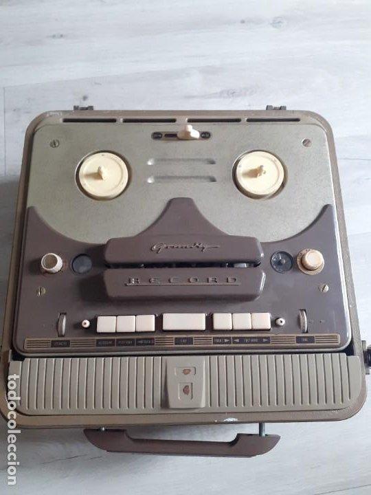 MAGNETOFONO GRUNDIG TK820 3D (Radios, Gramófonos, Grabadoras y Otros - Fonógrafos y Grabadoras de Válvulas)